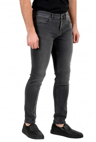 "Hugo Boss Men's ""Hugo 734"" Skinny Fit Gray Wash Stretch Jeans: Picture 2"