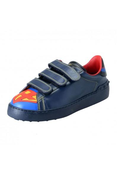 Valentino Garavani Women's Limited Edition Super H Superman Sneakers Shoes