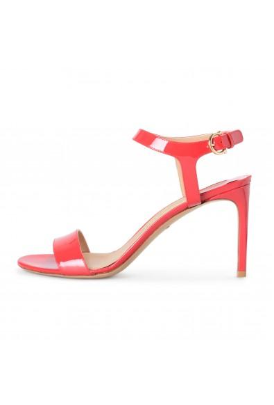 "Salvatore Ferragamo Women's ""Elita"" Patent Leather High Heel Sandals Shoes: Picture 2"