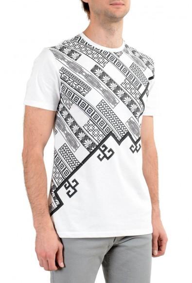 Versace Collection Men's White Graphic Short Sleeve Crewneck T-Shirt: Picture 2