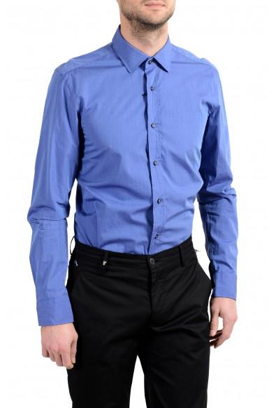 "Hugo Boss ""Igon"" Men's Slim Blue Long Sleeve Dress Shirt: Picture 2"