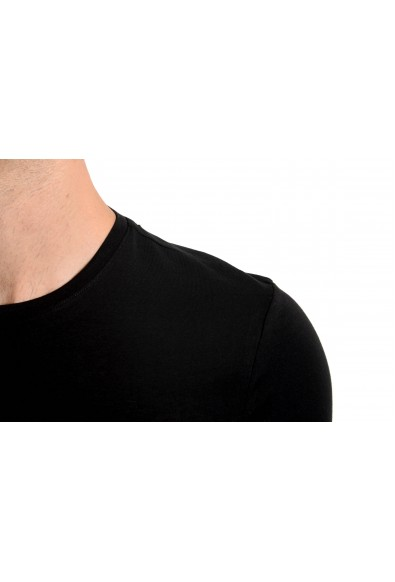 "Roberto Cavalli ""SPORT"" Men's Black Graphic Stretch T-Shirt: Picture 2"