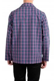 Hugo Boss Men's Plaid Long Sleeve Cotton Pajama Shirt: Picture 3