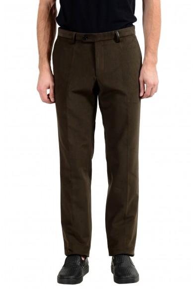 "Hugo Boss ""T-Gilsen"" Men's Dark Green Casual Pants"