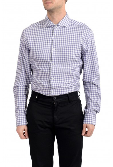 "Hugo Boss Men's ""T-Christo"" Plaid Slim Fit Long Sleeve Dress Shirt: Picture 2"