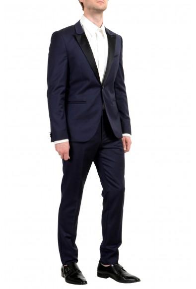 """Hugo Boss """"Auerd/Himins"""" Men's 100% Wool Blue One Button Suit: Picture 2"""