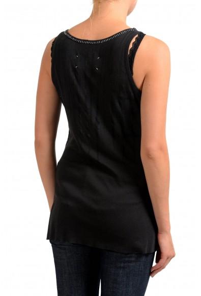 Maison Margiela Faded Black Sleeveless Women's Tank Top : Picture 2