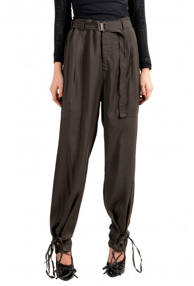 Just Cavalli Women's Brown Belted Pants