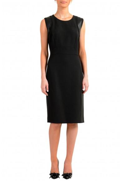 "Hugo Boss Women's ""Daleta"" Black Sleeveless Pencil Dress"