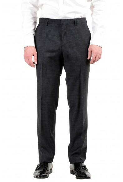 """Hugo Boss """"Huge6/Genius4"""" Men's 100% Wool Gray Two Button Suit: Picture 2"""