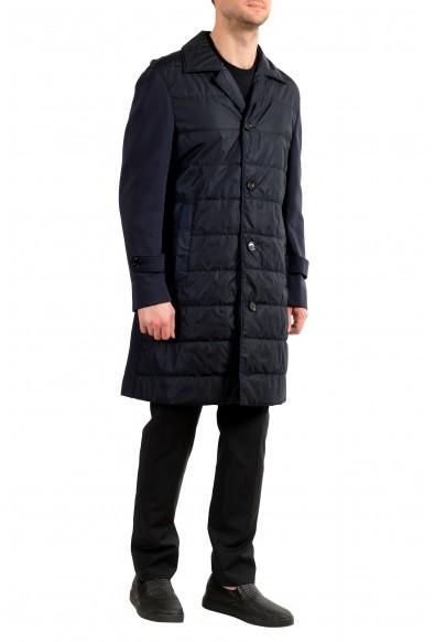 "Hugo Boss Men's ""Daban-J"" Blue Regular Fit Button Down Coat : Picture 2"