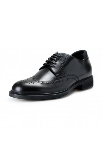"Hugo Boss Men's ""Firstclass_Derb_GSU"" Black Leather Derby Shoes"