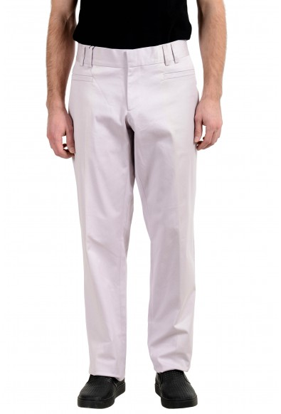 Gucci Men's Light Purple Stretch Casual Pants
