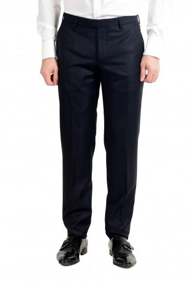 "Hugo Boss ""T-Navin/Bennet"" Men's 100% Wool Dark Blue Double Breasted Suit: Picture 2"