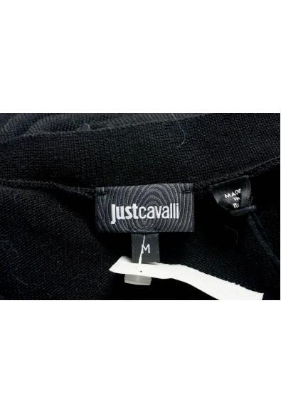 Just Cavalli Men's Black 100% Wool Cardigan Sweater : Picture 2