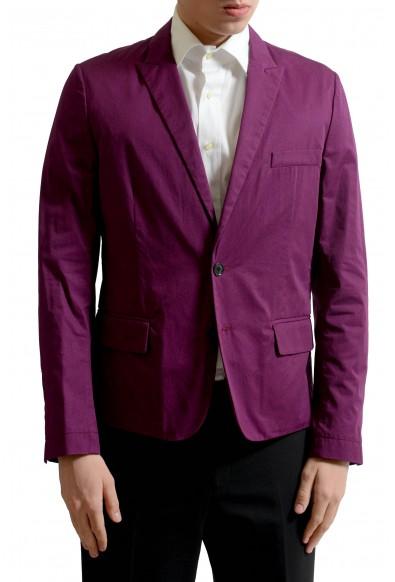 Dolce & Gabbana Men's Plum Purple Light Two Button Blazer Sport Coat