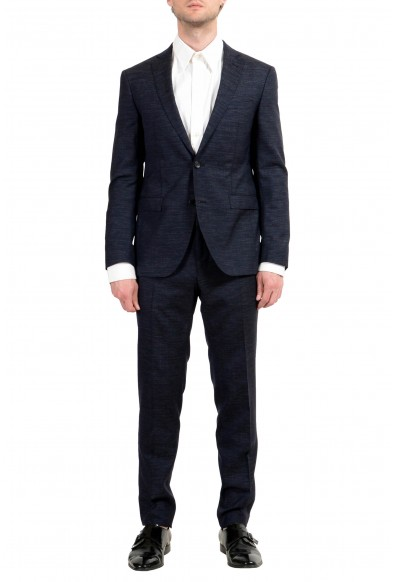 """Hugo Boss """"Reyno4/Wave2"""" Men's Wool Extra Slim Two Button Suit"""