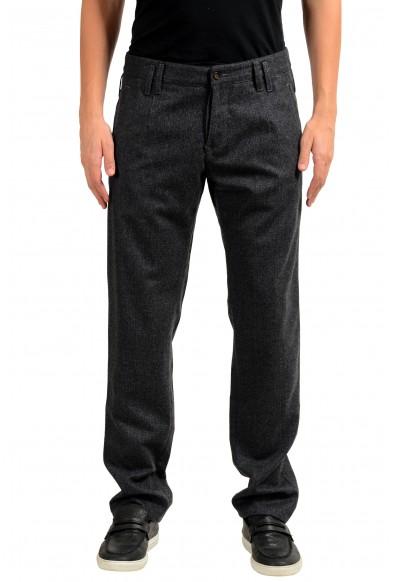 Dolce & Gabbana Men's 100% Wool Gray Dress Pants