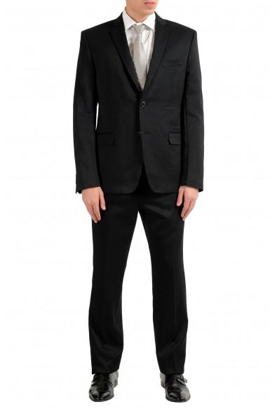 Versace Collection Men's Sparkling Black Two Button Suit
