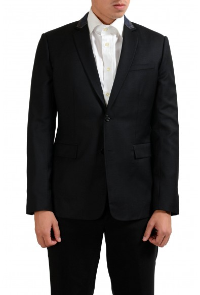 Christian Dior Men's Black 100% Wool Blazer Sport Coat