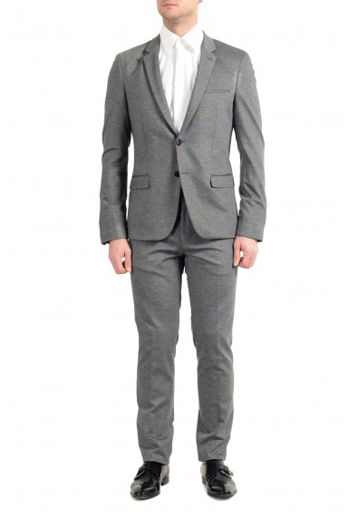 """Hugo Boss """"Anfred/Heiron192J"""" Men's Gray Extra Slim Two Button Suit"""