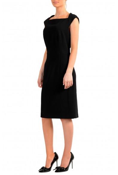 "Hugo Boss Women's ""Dekala1"" Black Sleeveless Pencil Dress: Picture 2"