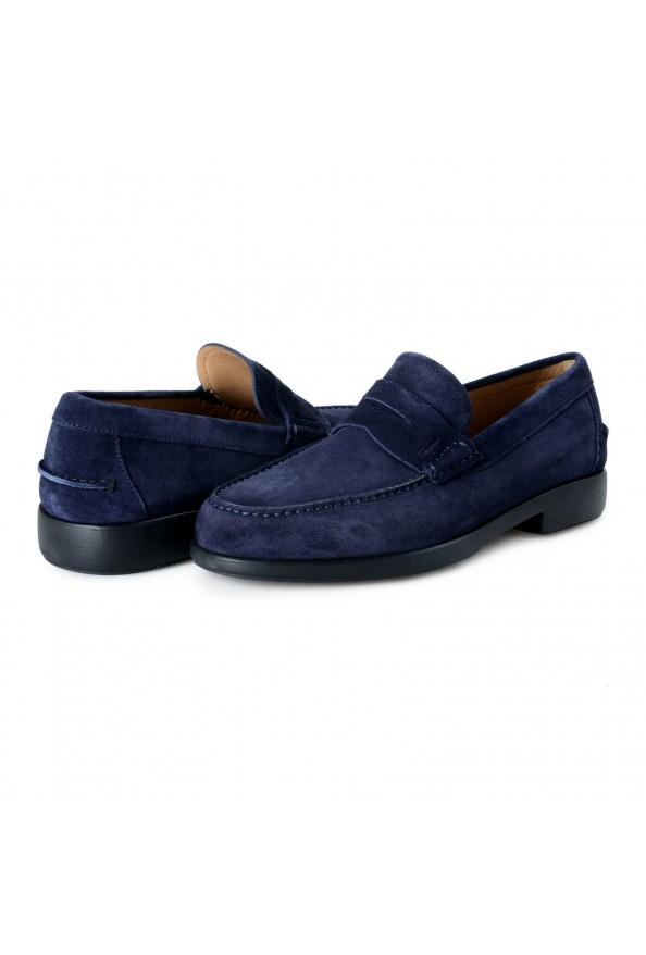 Salvatore Ferragamo Men's Ferro Suede Leather Loafers Moccasins Slip On Shoes: Picture 8