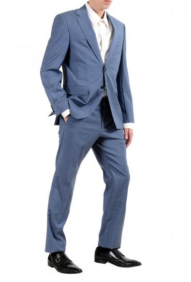 "Hugo Boss ""Phoenix/Madisen"" Men's 100% Wool Blue Comfort Fit Two Button Suit: Picture 2"