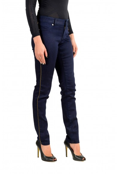 """Just Cavalli Women's Dark Blue """"Just Chic Jeggings"""" Jeans : Picture 2"""