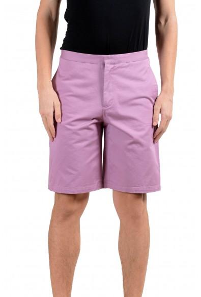 Versace Men's Purple Casual Shorts