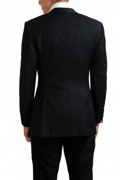 Gianni Versace Couture 100% Wool Men's Black One Button Blazer: Picture 2