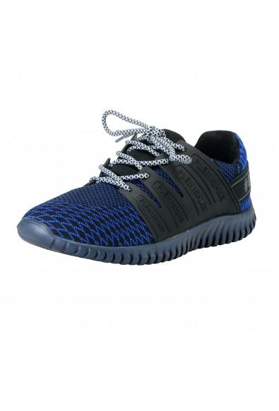 "Plein Sport ""Mason"" Blue Runner Fashion Sneakers Shoes"