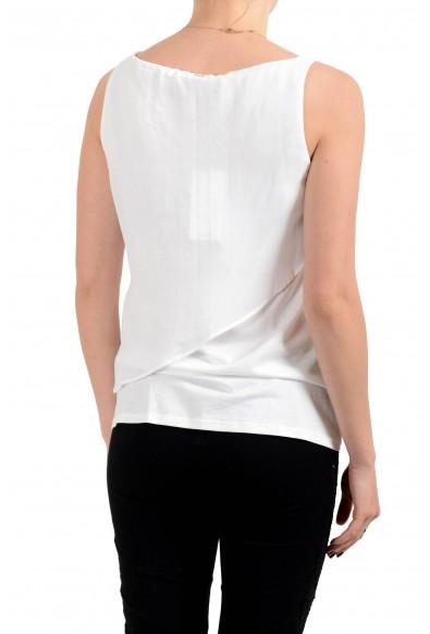 "Hugo Boss Women's ""Esavi"" White Sleeveless Blouse Top : Picture 2"