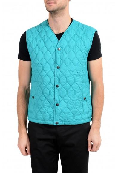 "Hugo Boss ""Ciro"" Men's Blue Button Up Vest"