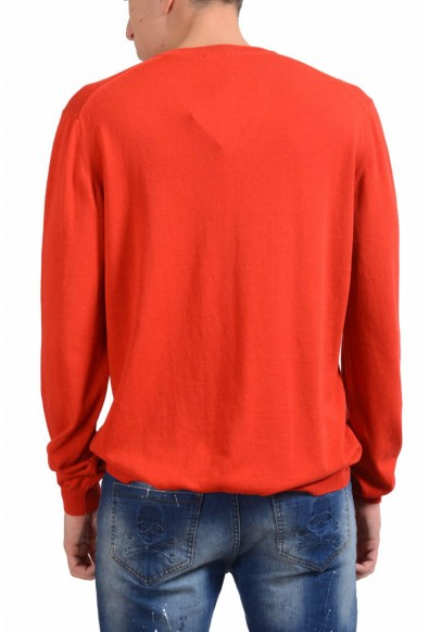 Malo Men's V-Neck Candy Red Sweater: Picture 2