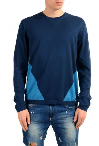 Versace Collection Men's Two Tones Crewneck Sweater