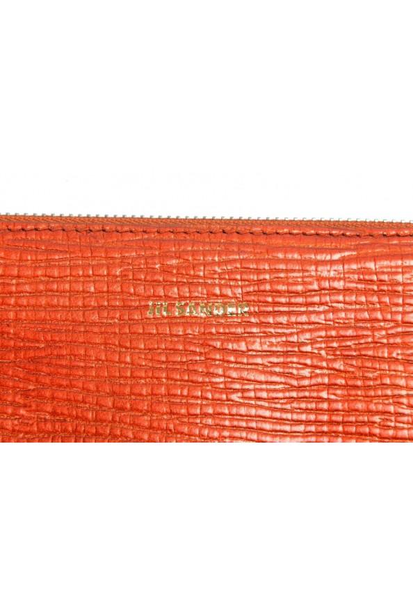 Jil Sander 100% Leather Gold Women's Clutch Bag: Picture 4