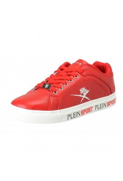 """Plein Sport """"Julian"""" Red Fashion Sneakers Shoes"""