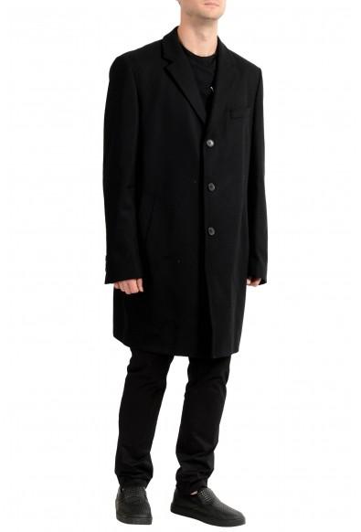 "Hugo Boss ""Nye1"" Men's Wool Black Three Button Coat : Picture 2"