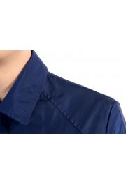 Malo Navy Full Zip Men's Windbreaker Jacket : Picture 4