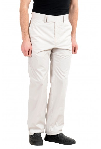 """Hugo Boss """"North/Pantry_FS"""" Men's Off White Slim Casual Pants: Picture 2"""