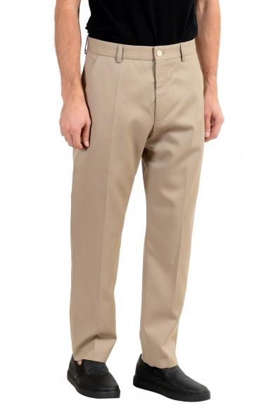 "Hugo Boss ""Paz"" Men's 100% Wool Beige Casual Pants : Picture 2"