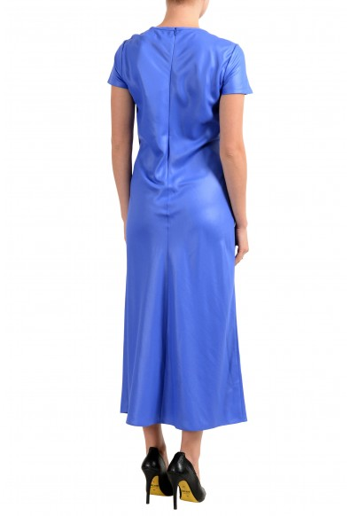 "Hugo Boss ""Dibias"" Women's Blue Short Sleeve Maxi Dress: Picture 2"