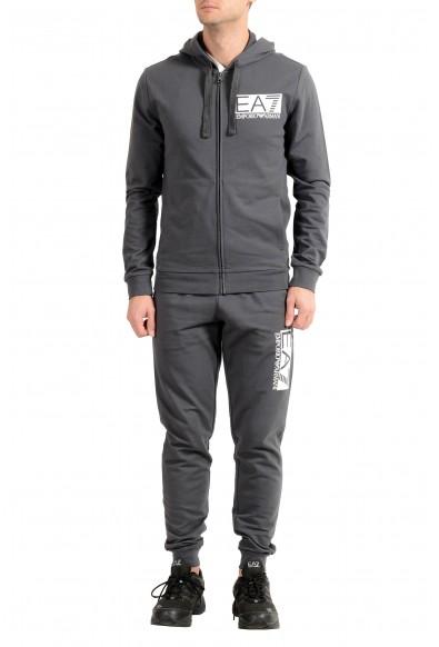 Emporio Armani EA7 Men's Gray Track Sweat Suit