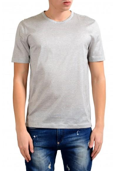 Malo Men's Striped Crewneck Short Sleeve T-Shirt