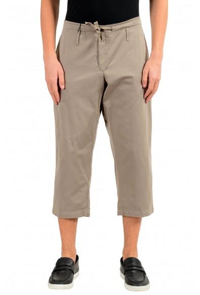 Dolce & Gabbana Men's Reversible Cropped Casual Pants