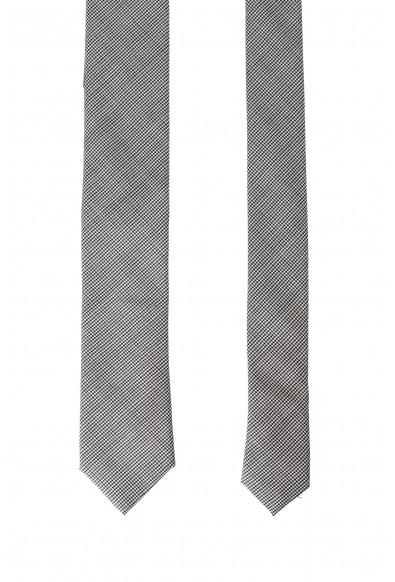 Hugo Boss Men's 100% Wool Houndstooth Print Tie: Picture 2