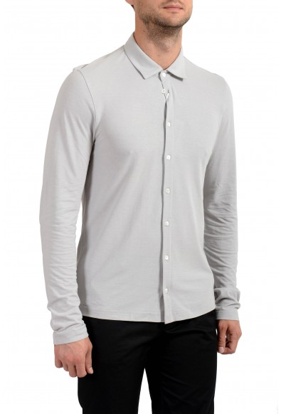 Malo Men's Ivory Long Sleeve Casual Shirt: Picture 2