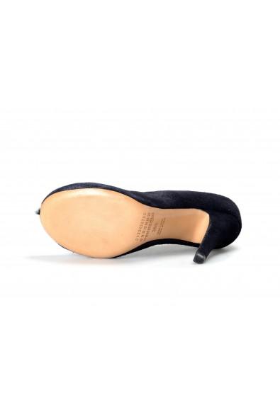 Maison Margiela Women's Blue Suede Leather High Heel Pumps Shoes : Picture 2