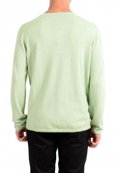 Malo Men's Green 100% Cashmere Pullover Sweater : Picture 2